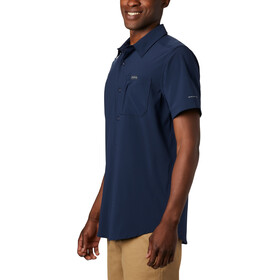 Columbia Triple Canyon Solid Kurzarmshirt Herren collegiate navy